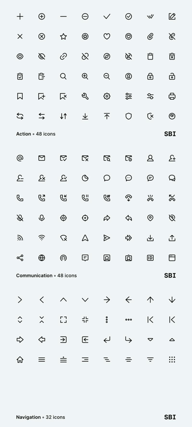 128 Super Basic Icons