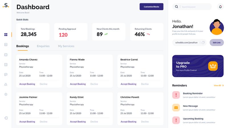 Booking Management UI kit