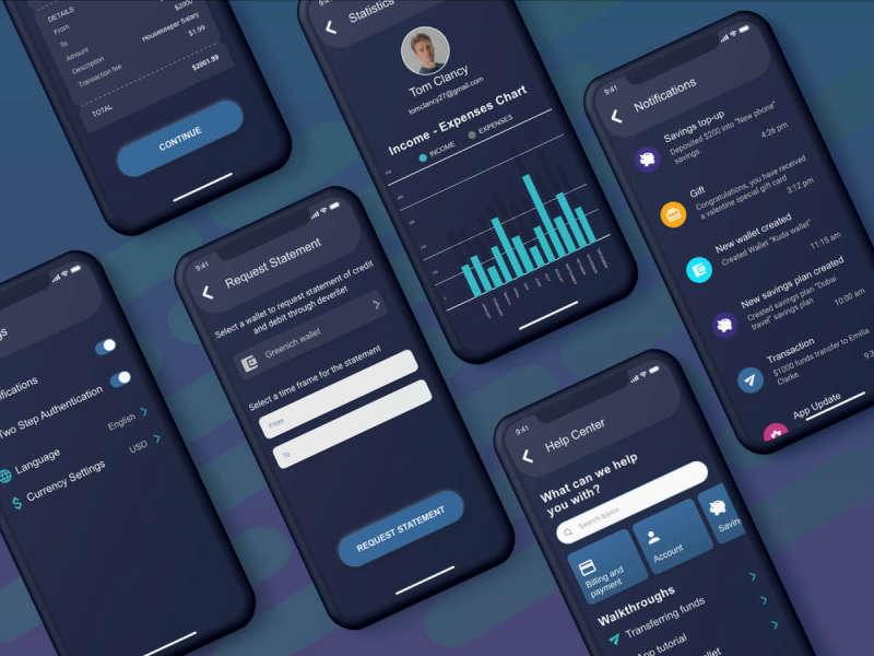 Wallet App UI Kit