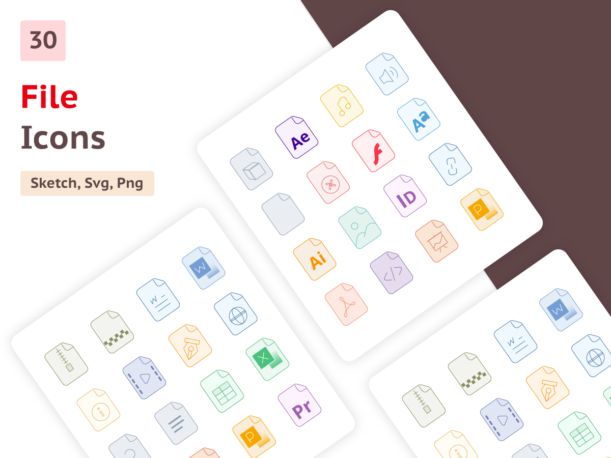 All file type icons