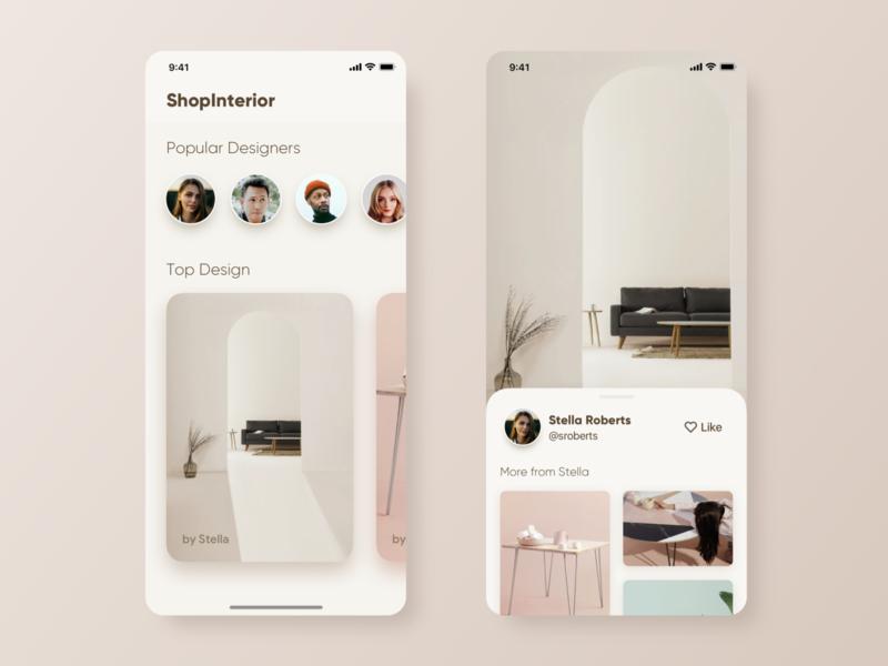 App for Interior Designer