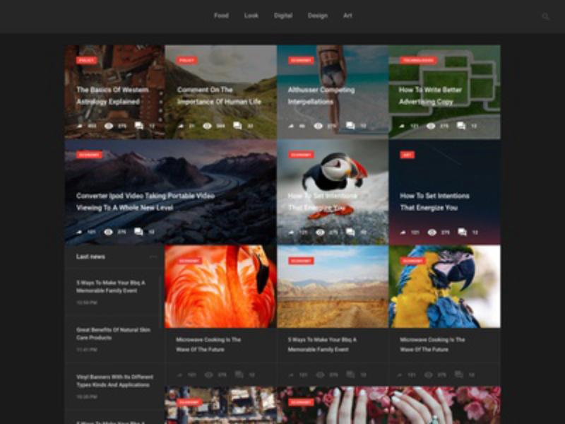 Blog WebUI-Kit   Free PSD Download  