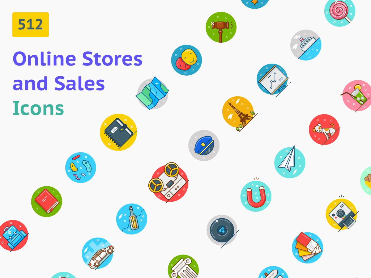 Online Stores and Sales Illustrations