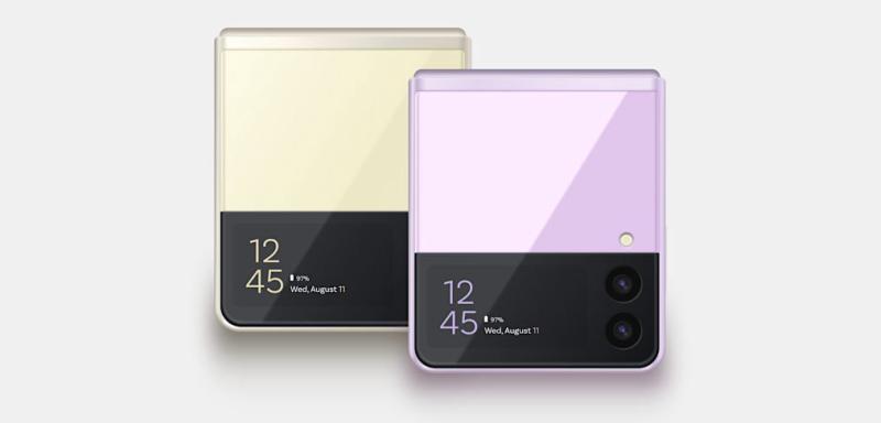 Samsung Galaxy Z Flip 3 XD Mockup