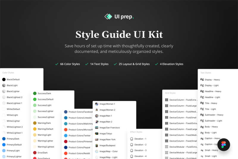 UI Prep Style Guide