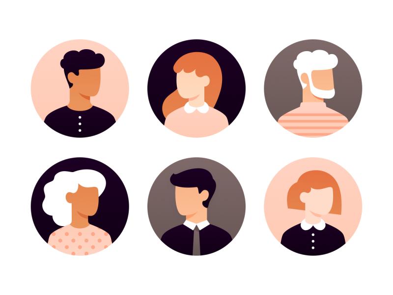 User avatars (Sketch file)