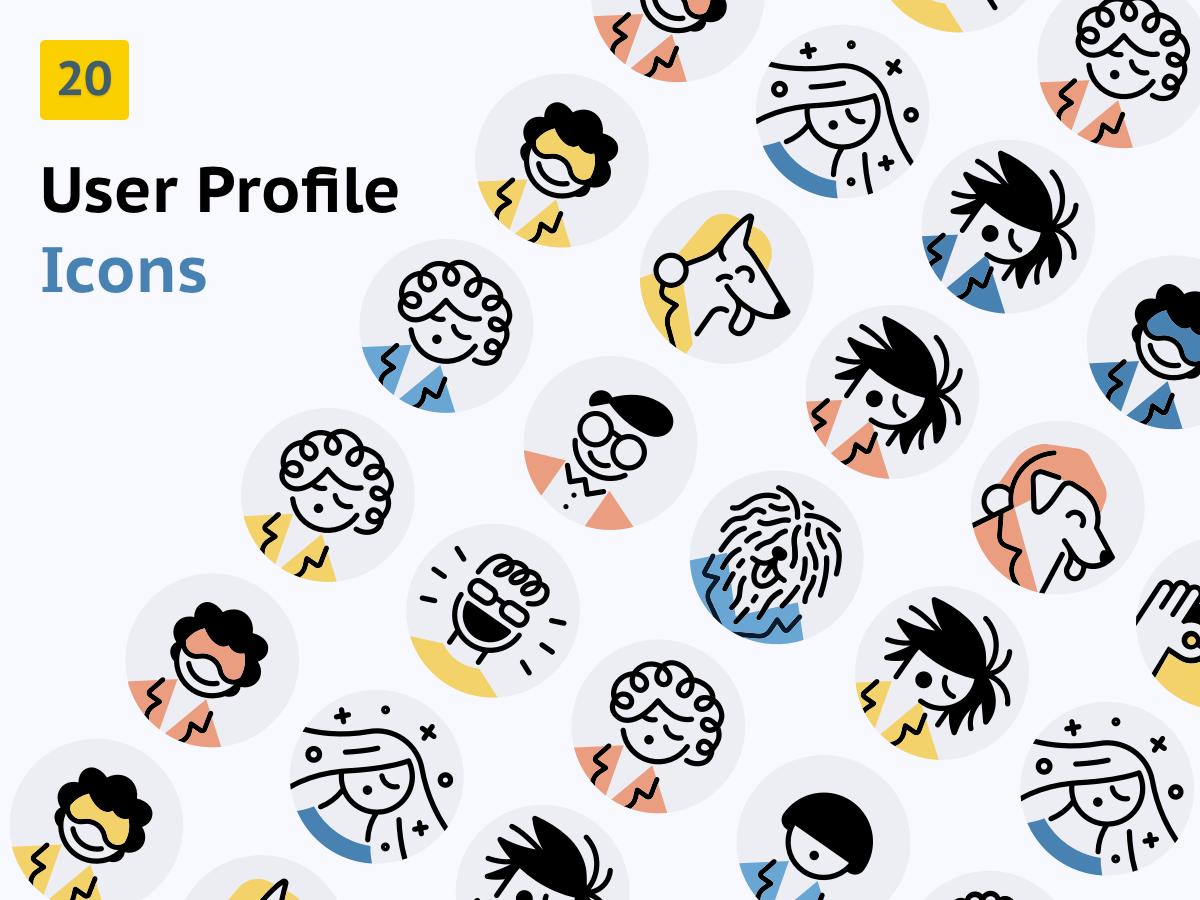 User Profile Icons - Avatars
