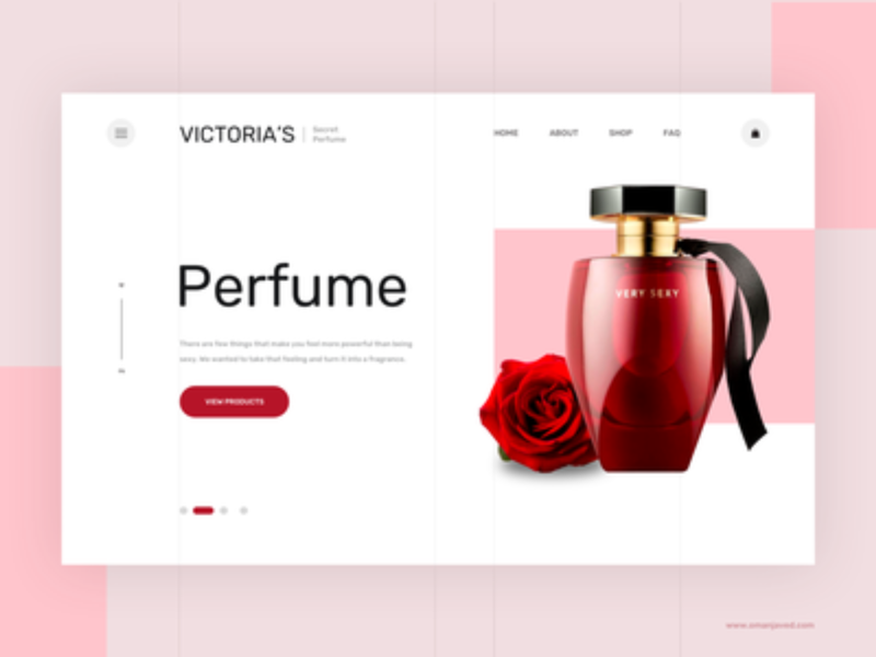 Victoria's Product Landing Template
